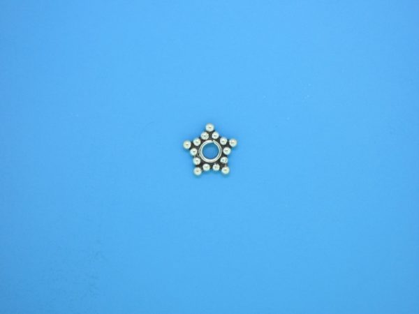 15530 - Bali Silver Daisy Spacer 1.5x8mm