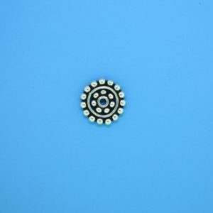 15535 - Bali Silver Daisy Spacer 2x11mm