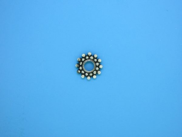 15536 - Bali Silver Daisy Spacer 1.5x10mm