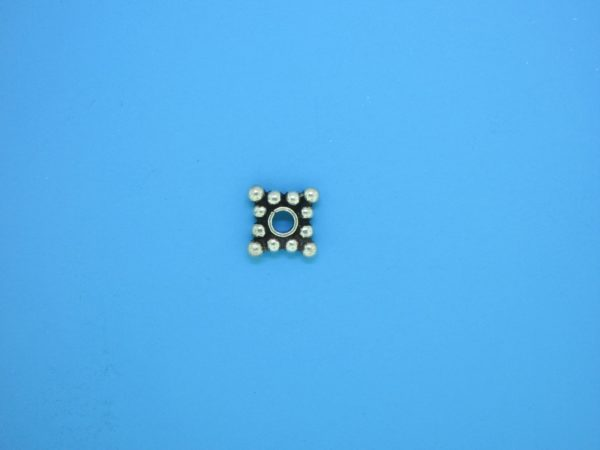 15544 - Bali Silver Daisy Spacer 2x8mm