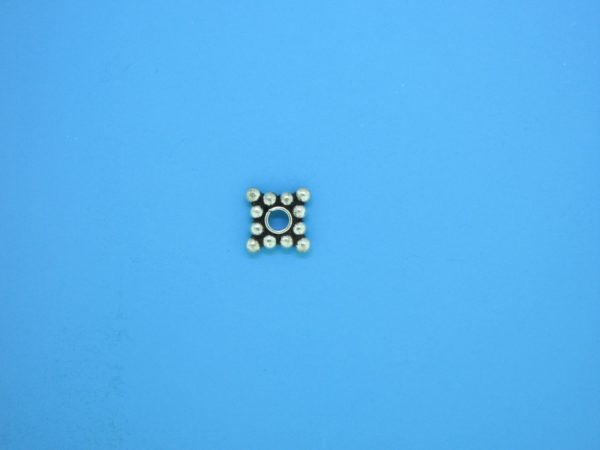 15543 - Bali Silver Daisy Spacer 2x7mm