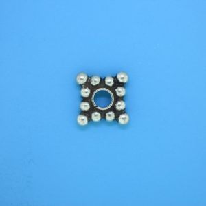 15546 - Bali Silver Daisy Spacer 3x13mm