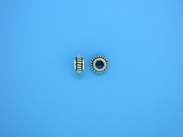 15549 - Bali Silver Spacer Bead 3x5mm