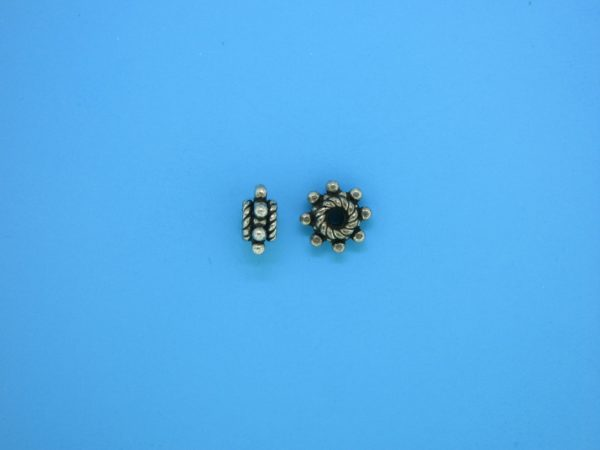 15551 - Bali Silver Spacer Bead 4x8mm
