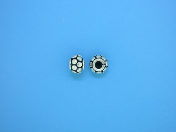 15553 - Bali Silver Spacer Bead 5x7mm