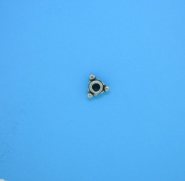 15554 - Bali Silver Spacer Bead 3x6mm