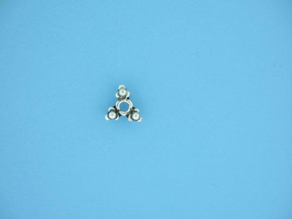 15555 - Bali Silver Bead 4x8.5mm