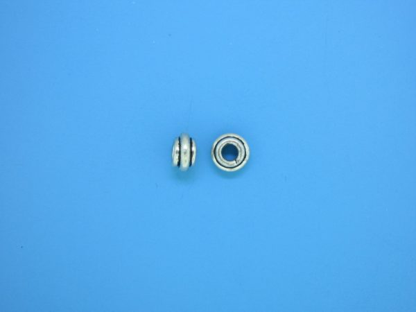 15561 - Bali Silver Spacer Bead 6mm