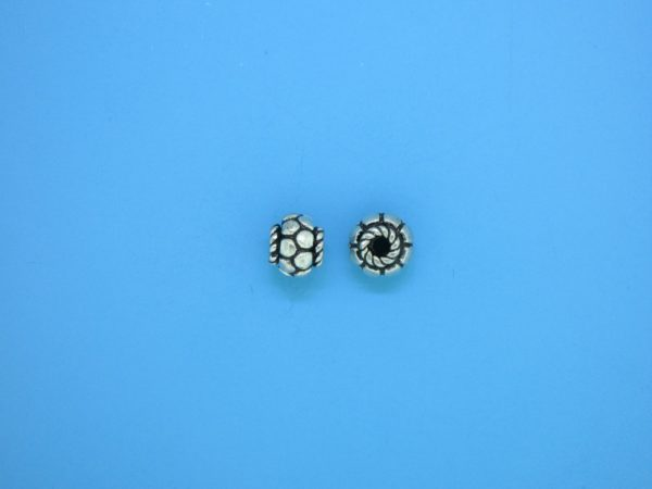 15562 - Bali Silver Spacer Bead 6mm