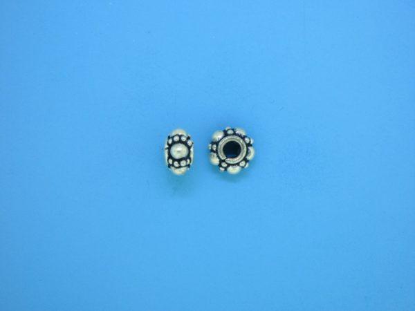 15566 - Bali Silver Bead 8mm