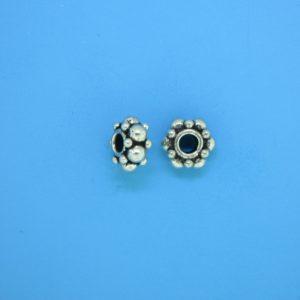 15567 - Bali Silver Bead 9mm