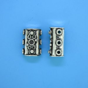 15583 - Bali Silver 3 Hole Spacer Bar 16mm