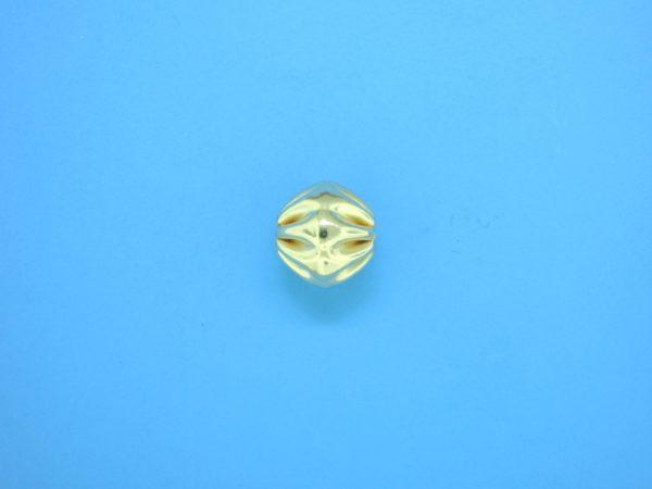 323 - 9x9.5mm Gold Filled Fancy Bead