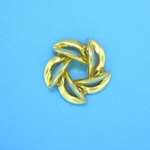 318 - Gold Filled Jagger Bead
