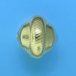 301 - 19x20mm Gold Filled Fancy Bead