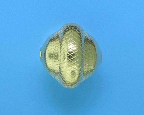 301 - 19x20mm Gold Filled Fancy Bead