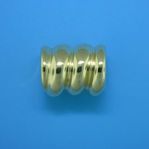 879 - 15.5x19mm Gold Filled Fancy Bead