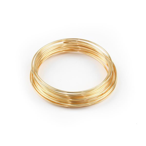 542 - (21-G) Gold Filled Hard Round Wire