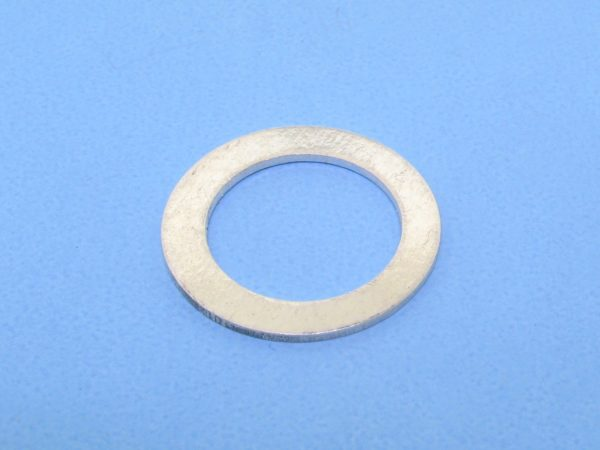 #15735 - Brushed Sterling Silver Flat Ring - 20mm