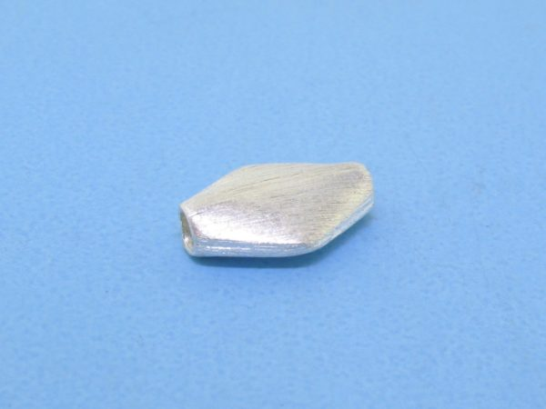#15745 - Brushed Sterling Silver Bead - 11mm