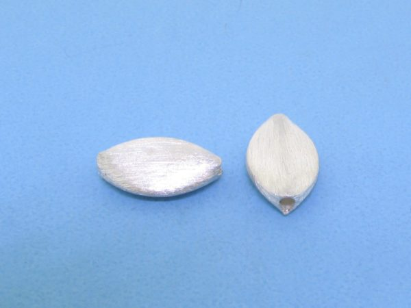 #15748 - Brushed Sterling Silver Bead - 13mm