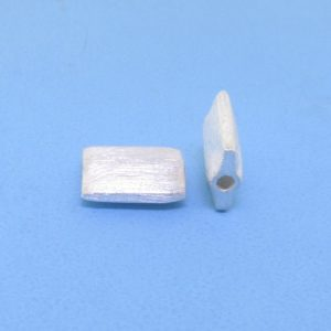 #15750 - Brushed Sterling Silver Bead - 10mm
