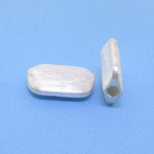 #15751 - Brushed Sterling Silver Bead - 13mm