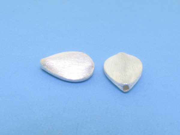 #15754 - Brushed Sterling Silver Bead - 13mm