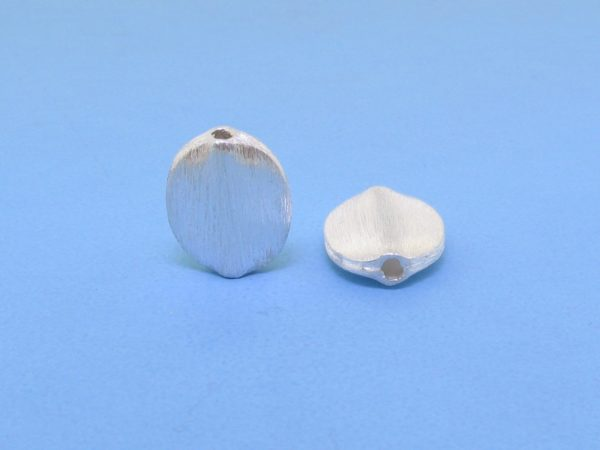 #15756 - Brushed Sterling Silver Bead - 12mm