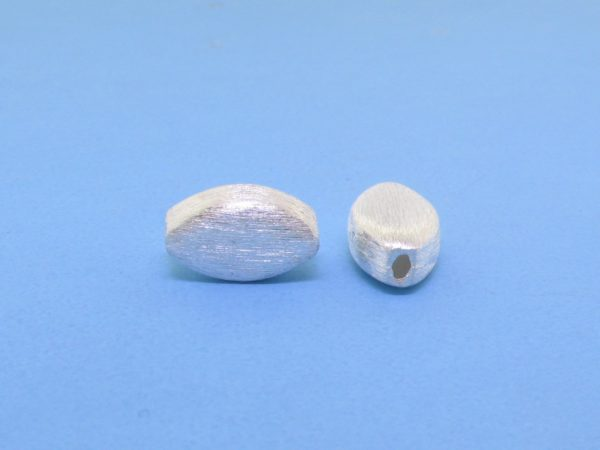 #15762 - Brushed Sterling Silver Bead - 10mm