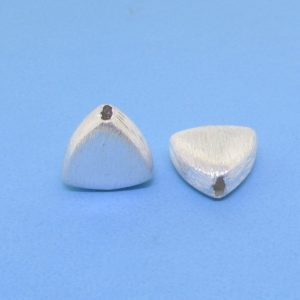 #15764 - Brushed Sterling Silver Bead - 10mm
