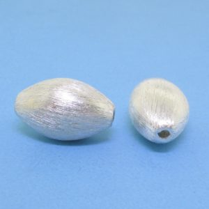#15775 - Brushed Sterling Silver Bead - 13mm