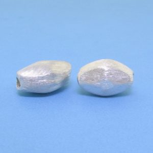 #15777 - Brushed Sterling Silver Bead - 12mm