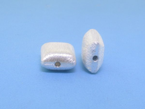 #15806 - Brushed Sterling Silver Bead - 10mm