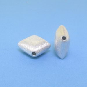 #15807 - Brushed Sterling Silver Bead - 10mm