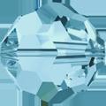 5000 - 10mm Swarovski Round Crystal - Aquamarine