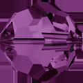 5000 - 10mm Swarovski Round Crystal - Amethyst
