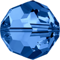 5000 - 10mm Swarovski Round Crystal - Capri Blue