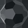 5000 - 10mm Swarovski Round Crystal - Jet Hematite
