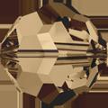 5000 - 10mm Swarovski Round Crystal - Light Smoke Topaz