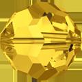 5000 - 10mm Swarovski Round Crystal - Light Topaz