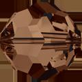 5000 - 10mm Swarovski Round Crystal - Smoke Topaz