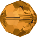 5000 - 10mm Swarovski Round Crystal - Topaz