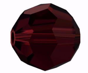 5000 - 10mm Swarovski Round Crystal - Garnet