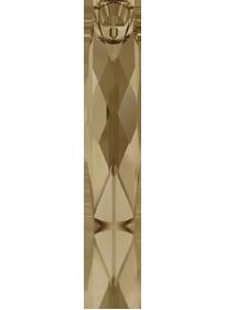 6460 - 20mm Swarovski Column Pendant - Golden Shadow