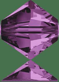 5301/5328 - 8mm Swarovski Bicone Crystal Bead - Amethyst
