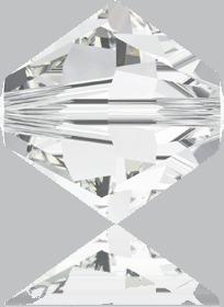 5301/5328 - 8mm Swarovski Bicone Crystal Bead - Crystal