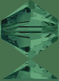 5301/5328 - 8mm Swarovski Bicone Crystal Bead - Emerald