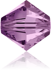 5301/5328 - 8mm Swarovski Bicone Crystal Bead - Light Amethyst