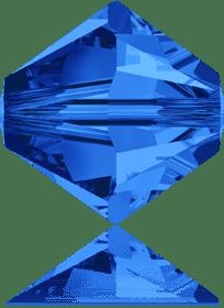 5301/5328 - 8mm Swarovski Bicone Crystal Bead - Sapphire